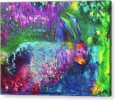 Velveteen Rabbit Acrylic Print