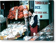 Acrylic Print featuring the photograph Vendor by Douglas Pike