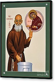 Venerable Fr. Solanus Casey The Healer 038 Acrylic Print