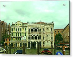 Acrylic Print featuring the photograph Venetian Aternoon by Anne Kotan