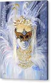 Venetian Beauty Acrylic Print