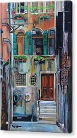 Venetian Colors Acrylic Print