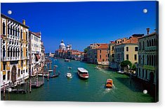Acrylic Print featuring the photograph Venetian Highway by Anne Kotan