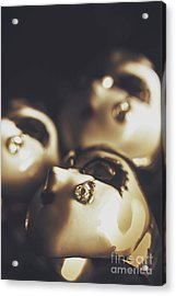 Venetian Masquerade Mask Rings Acrylic Print by Jorgo Photography - Wall Art Gallery