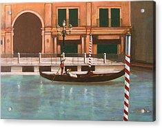 Venetian Number Two Acrylic Print by Howard Stroman