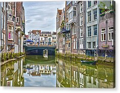 Venetian Vibe In Dordrecht Acrylic Print