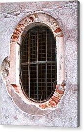 Venetian Window Acrylic Print