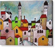 Venezia Scorcio Acrylic Print