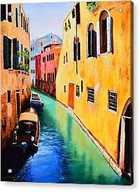 Venice 13 Acrylic Print by Michael McGrath