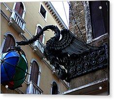 Venice-15 Acrylic Print by Valeriy Mavlo