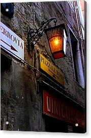 Venice-17 Acrylic Print by Valeriy Mavlo