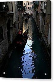 Venice-3 Acrylic Print by Valeriy Mavlo
