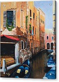 Venice 7 Acrylic Print by Michael McGrath