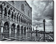 Venice After The Rain Acrylic Print