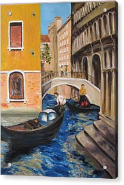 Venice Afternoon Acrylic Print