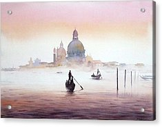 Venice At Early Morning Acrylic Print
