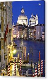 Venice At Night Acrylic Print by Dan Breckwoldt