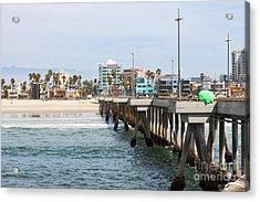 Venice Beach From The Pier Acrylic Print