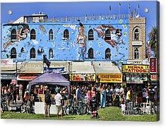 Venice Beach V Acrylic Print by Chuck Kuhn
