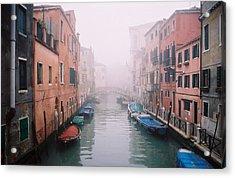 Venice Canal I Acrylic Print by Kathy Schumann