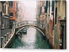 Venice Canal II Acrylic Print by Kathy Schumann