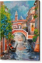 Venice Cityscape - Italy Acrylic Print