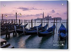Acrylic Print featuring the photograph Venice Dawn II by Brian Jannsen