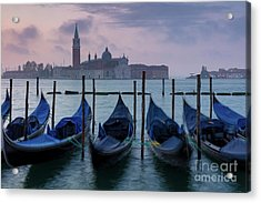 Acrylic Print featuring the photograph Venice Dawn IIi by Brian Jannsen