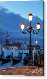 Acrylic Print featuring the photograph Venice Dawn V by Brian Jannsen