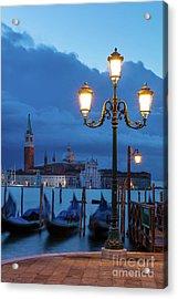 Venice Dawn V Acrylic Print by Brian Jannsen
