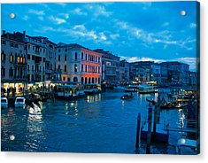 Acrylic Print featuring the photograph Venice Evening by Eric Tressler