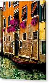 Venice Facade Acrylic Print