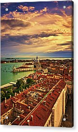 Venice From The Bell Tower Acrylic Print