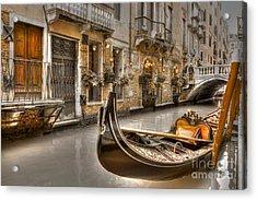 Venice Gold Acrylic Print