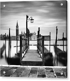 Venice Gondolas IIi Acrylic Print