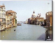 Venice Grand Canal Acrylic Print by Al Blackford