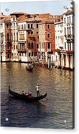 Venice Acrylic Print by Helga Novelli