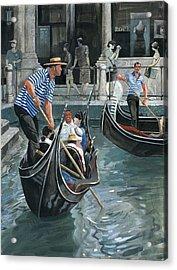 Venice. Il Bacino Orseolo Acrylic Print