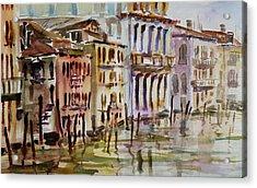 Venice Impression II Acrylic Print by Xueling Zou