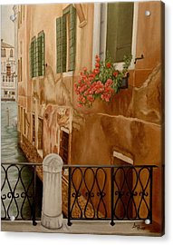 Venice In June Acrylic Print