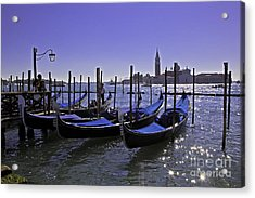 Venice Is A Magical Place Acrylic Print