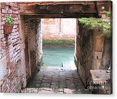 Venice- Italy-garage Acrylic Print