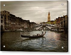 Acrylic Print featuring the photograph Venice by John Hix