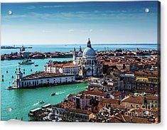 Venice Acrylic Print by M G Whittingham