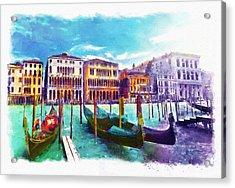 Venice Acrylic Print by Marian Voicu