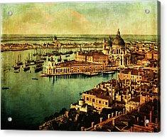 Venice Observed Acrylic Print by Sarah Vernon