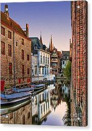 Venice Of The North Acrylic Print