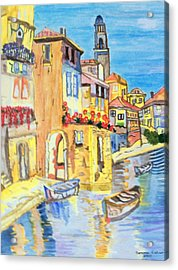 Venice On A Summer Afternoon Acrylic Print by Connie Valasco