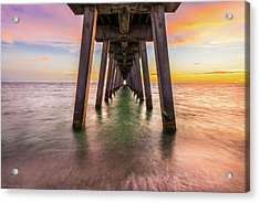 Acrylic Print featuring the photograph Venice Pier by Expressive Landscapes Fine Art Photography by Thom