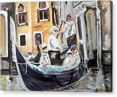 Venice Party Acrylic Print